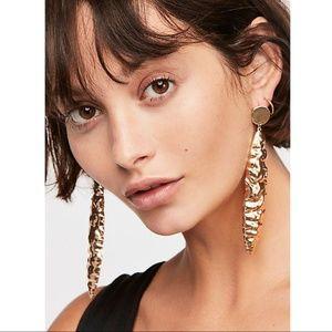 Free People Northstar Earrings Silver NWT